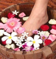 Mineral Foot Bath